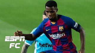 Barcelona vs. Leganes reaction: Ansu Fati 'does something that others don't do' for Barca | ESPN FC