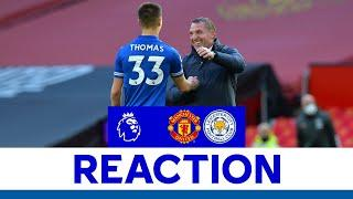 'So Happy For The Players' - Brendan Rodgers | Manchester United 1 Leicester City 2 | 2020/21