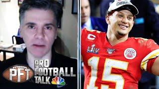 Will Patrick Mahomes regret signing 10-year extension with Chiefs? | Pro Football Talk | NBC Sports