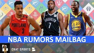 NBA Rumors On Kevin Durant, Draymond Green, Michael Porter Jr. & CJ McCollum | NBA MAILBAG