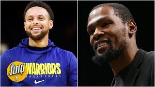 Who has more pressure NBA opening night: the Warriors or the Nets? | The Jump
