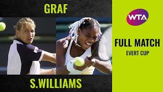 Stefanie Graf vs. Serena Williams | Full Match | 1999 Evert Cup Final