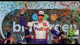 Race Recap: Denny Hamlin wins, playoff elimination from Phoenix in 132 seconds