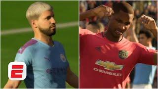 Man United vs. Man City: Sergio Aguero and Odion Ighalo battle for glory | FIFA 20 Predicts