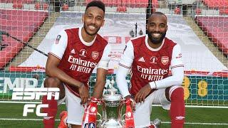 Alexandre Lacazette makes Pierre-Emerick Aubameyang's job easier at Arsenal - Laurens | ESPN FC