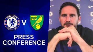 Frank Lampard on Underperforming & how Chelsea Respond to Loss | Chelsea v Norwich