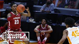Alabama upsets No. 7 Tennessee [HIGHLIGHTS] | ESPN College Basketball