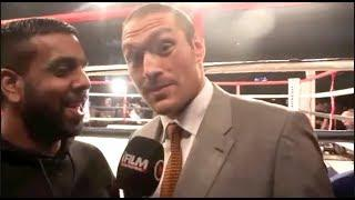 'DEONTAY WILDER WONT GO 2 ROUNDS WITH ME. HE KNOCKED OUT 28 BUMS' - TYSON FURY TALKS WILDER IN 2013