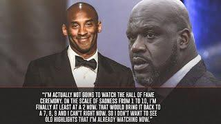 Shaquille O'Neal Explains Why He WON'T Be Watching Kobe Bryant's Hall Of Fame Induction Ceremony