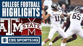 #21 Texas A&M vs Mississippi State Highlights: The Aggies take care of business | CBS Sports HQ