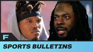 Richard Sherman RIPS Cam Newton Contract With Patriots, Calls Deal Disgusting