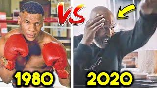 Mike Tyson FIGHTS in 2020 vs 1982-K.O HIGHLIGHTS COMPARISON: AGE 53 vs AGE 13 (ANALYSIS)
