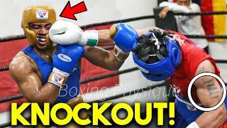 *WOW* MANNY PACQUIAO vs SPENCE LEAKED SPARRING IN SERIOUS TRAINING CAMP for MEGA BOXING CLASH 2021