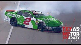 Reddick wrecks out at Texas Motor Speedway | NASCAR at Texas Motor Speedway