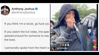 'IF YOU THINK I'M A RACIST - GO F*** YOURSELF' - ANTHONY JOSHUA HITS BACK WITH TWEET OVER BLM SPEECH