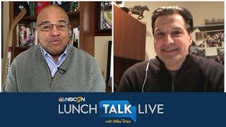 Eddie Olczyk talks postponed Kentucky Derby, eventual return of NHL | Lunch Talk Live | NBC Sports