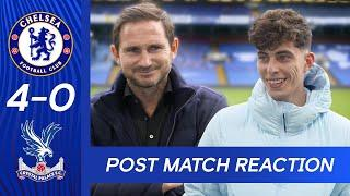 Frank Lampard & Kai Havertz React To Dominant Performance | Chelsea 4-0 Palace | Premier League