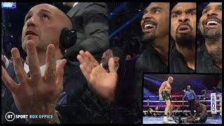 The knockdown reaction!  Inside the Wilder v Fury 2 commentary booth with David Haye