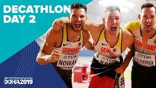 Decathlon Day 2 | World Athletics Championships Doha 2019