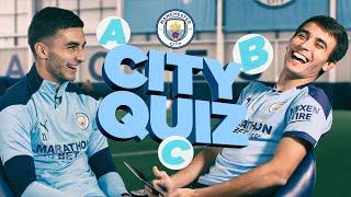 CITY QUIZ TIME! | Ferran Torres & Eric Garcia learn about Manchester City!