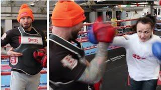 'THERE'S 4 INCHES OF PADDING… YOU SHOULD SEE MY BRUISES!' - RAVEN CHAPMAN SMASHES THE PADS & BODY