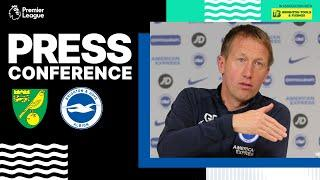 Graham Potter's Norwich Press Conference