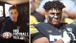 Instant Reaction: Buccaneers trade up for Tristan Wirfs at No. 13 | Pro Football Talk | NBC Sports