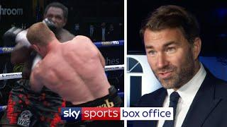 Eddie Hearn reacts to Dillian Whyte's SHOCKING defeat to Alexander Povetkin