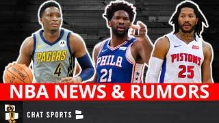 NBA News & Rumors On Derrick Rose & Victor Oladipo Trades + Pelicans, Rockets & Clippers' Head Coach