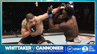 Robert Whittaker v Jared Cannonier | UFC 254 Highlights