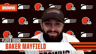"""Baker Mayfield: (On Stefanski) """"We're very much on the same page."""""""