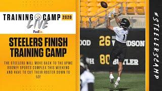 Steelers Training Camp Live: Steelers finish 2020 Training Camp