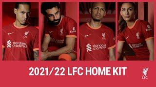 Introducing the NEW 2021/22 Nike Liverpool Home kit