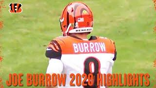 Joe Burrow Full Rookie Season Highlights from 2020 | Cincinnati Bengals