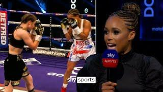 Natasha Jonas on what she learnt from her fight with Katie Taylor!