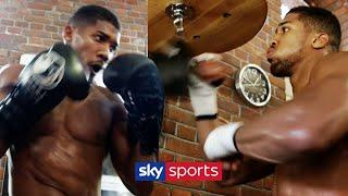 REVISITED! Anthony Joshua's training camp before his first world title fight | Behind The Ropes