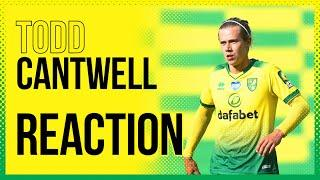 Norwich City 1-2 Manchester United AET | Todd Cantwell Reaction