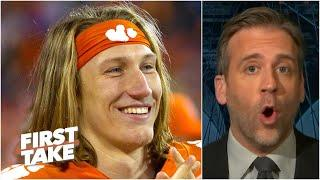 Clemson is too low! - Max reacts to the first College Football Playoff rankings | First Take