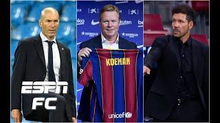 Why have Real Madrid, Barcelona and Atleti been quiet in the transfer market? | ESPN FC Extra Time