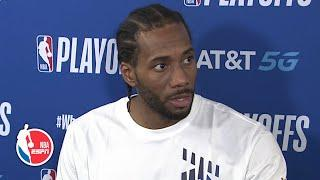 Kawhi Leonard reflects on Clippers' Game 7 loss to Nuggets | 2020 NBA Playoffs