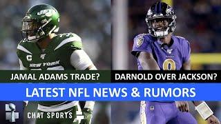 NFL News & Rumors: Jamal Adams Trade? Hunter Henry, Sam Darnold, The Match Woods vs. Mickelson