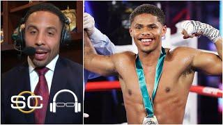 There's 'no ceiling' for Shakur Stevenson - Andre Ward | SC with SVP