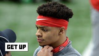 Is Justin Fields' NFL draft stock falling heading into the College Football Playoff?   Get Up