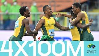 South Africa clinch 4x100m victory   World Athletics Relays