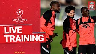 Live Champions League training session | Liverpool vs Atalanta
