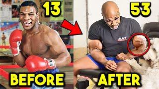 MIKE TYSON 13 to 53 YEARS OLD BODY TRANSFORMATION- TRAINING FOR BOXING COMEBACK