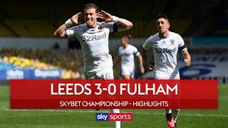 Leeds brush aside Fulham to go top of the table! | Leeds 3-0 Fulham | EFL Highlights