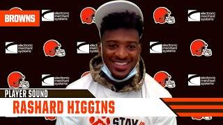 """Rashard Higgins: """"I practice hard so when times like that come, that's like a routine catch."""""""