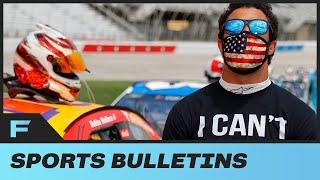 Bubba Wallace Reacts After Noose Is Found In His Garage At NASCAR, LeBron James & More Show Support