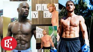 """LOGAN PAUL """"SIGN THE ****ING CONTRACT FLOYD MAYWEATHER"""" PRESSES FLOYD, VOWS ONE PUNCH..."""